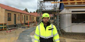 Bygningskonstruktør i praktik som entreprenør i HHM fra KEA